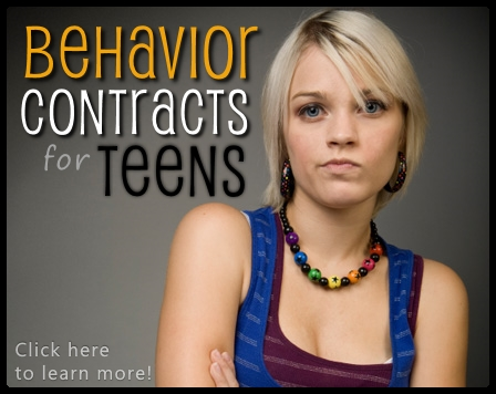 Behavior Contracts for Teens